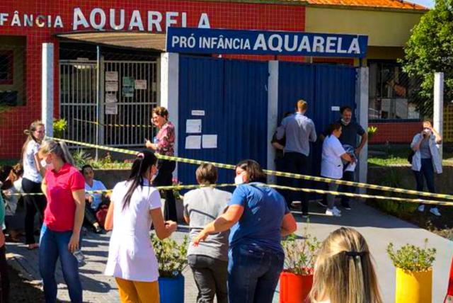 HOMBRE ATACA EN GUARDERÍA BRASILEÑA, ARREBATA LA VIDA A CINCO PERSONAS
