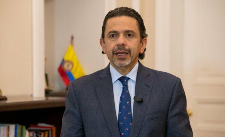 RENUNCIA ALTO COMISIONADO PARA LA PAZ EN COLOMBIA