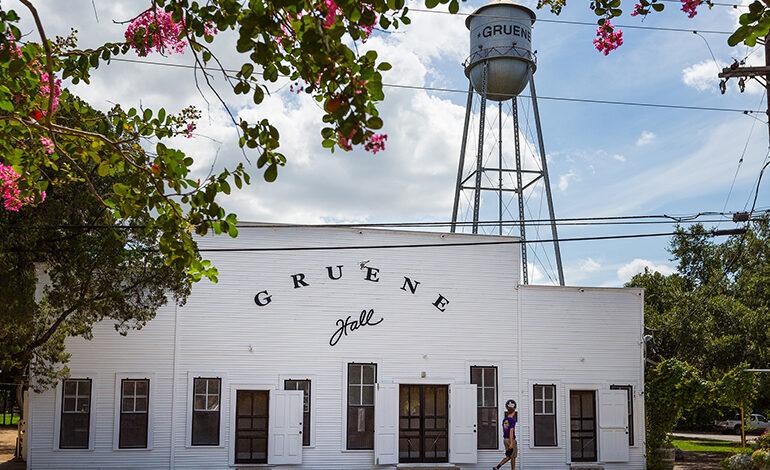 Vámonos a Gruene, Texas