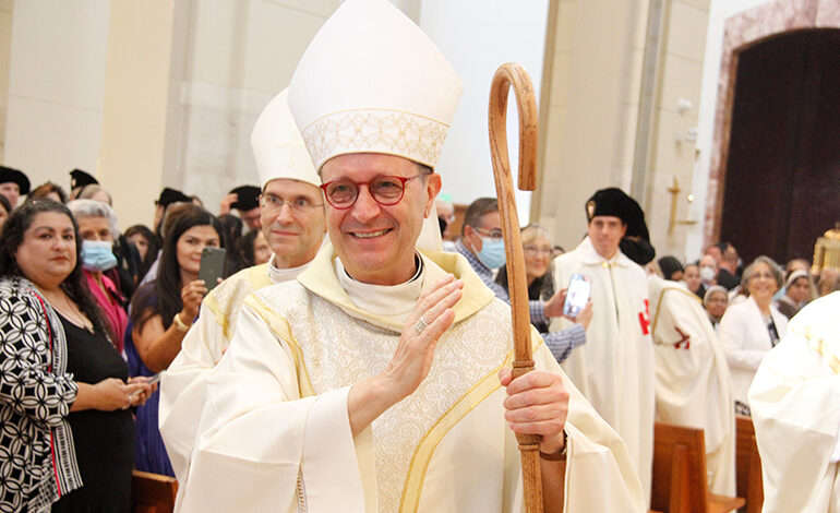 "Obispo Italo Dell'Oro: ""Los hispanos juegan un rol muy importante"""