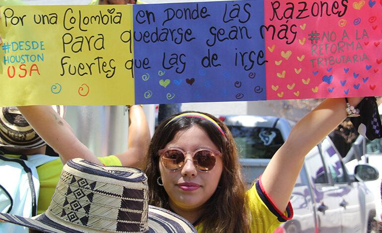 Colombianos en Houston: Ausentes pero presentes